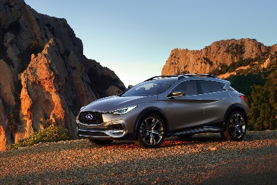 Infiniti QX30 Concept makes North American debut in New York