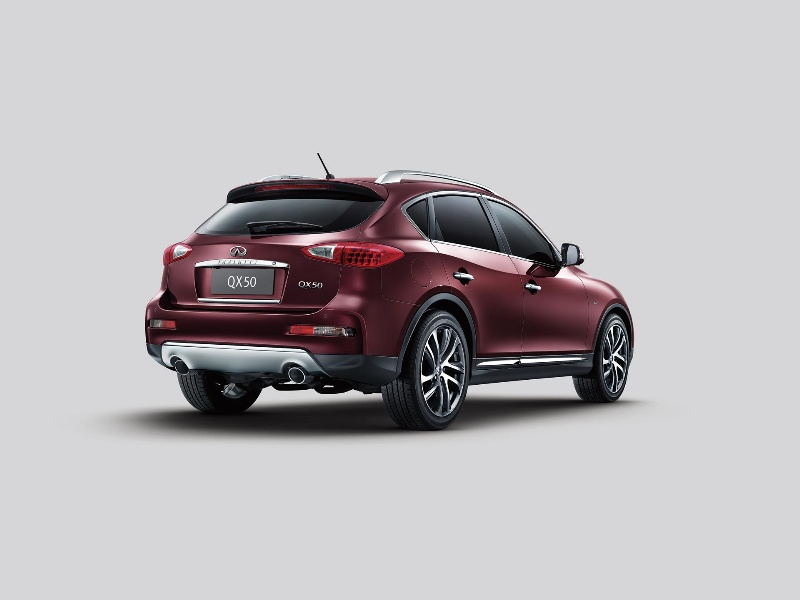 INFINITI REVEALS 2016 QX50 LUXURY CROSSOVER AT NEW YORK INTERNATIONAL AUTO SHOW