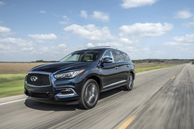 2016 INFINITI QX60 EARNS TOP SAFETY PICK+ AWARD FROM INSURANCE INSTITUTE FOR HIGHWAY SAFETY (IIHS)