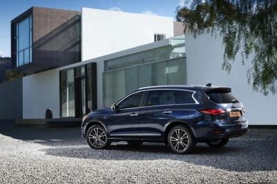 Infiniti QX60 Wins U.S. News & World Report 2017 Best Luxury Three-Row SUV For Families Award