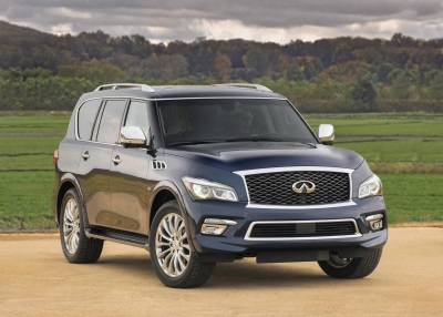INFINITI QX80 RATED MOST APPEALING LARGE PREMIUM SUV IN 2015 JD POWER U.S. APEAL STUDY