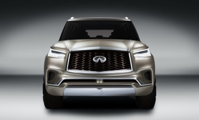 Infiniti QX80 Monograph: A Design Study Exploring 'Upscale Luxury' With Commanding Presence