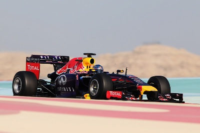 INFINITI RED BULL RACING BAHRAIN TEST: DAY TWO UPDATE