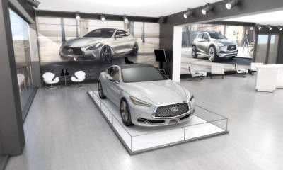 INFINITI CREATES GUEST-CENTERED VIRTUAL REALITY EXPERIENCE AT 2015 PEBBLE BEACH AUTOMOTIVE WEEK