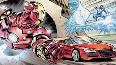 Audi invites Marvel fans to 'steer the story' for Iron Man