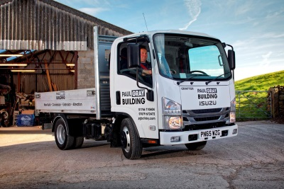 ISUZU BUILDS A REPUTATION WITH PAUL GRAY BUILDING