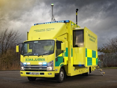 ISUZU COMMAND UNIT REPLACES THREE VEHICLES AT WMAS