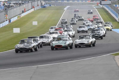 2017 Jaguar Classic Challenge Season Gets Off To Dramatic Start In Action-Packed Race At Donington