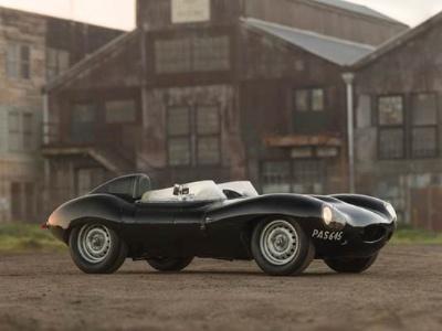 Historic 1955 Jaguar D-Type Joins Starting Grid at RM's Amelia Island Concours d'Elegance Sale