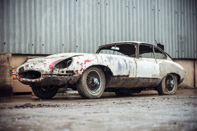 Jaguar E-Type Abandoned For 20 Years