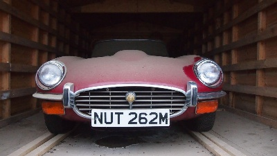 FAMILY E-TYPE COMES OUT OF HIDING AFTER 25 YEARS