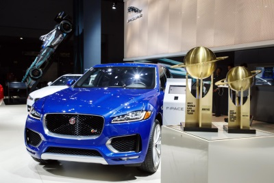 Unique 'World Car Of The Year' Jaguar F-Pace Heading For London Motor Show