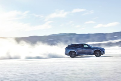 JAGUAR F-PACE TESTED TO THE EXTREME
