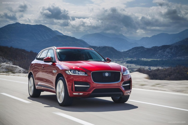 Jaguar F-Pace Among Finalists For Two World Car Awards Trophies
