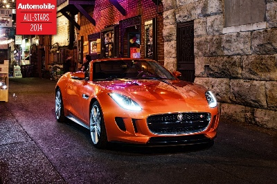 JAGUAR F-TYPE CONVERTIBLE WINS AUTOMOBILE MAGAZINE 2014 'ALL-STAR' AWARD