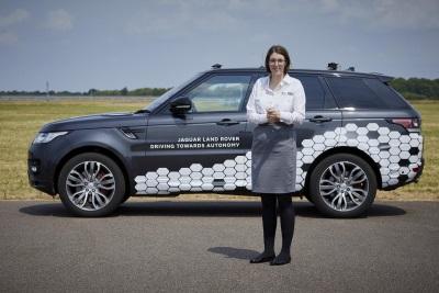 Rising Jaguar Land Rover Star Amy Wins Autocar's Great British Women Award