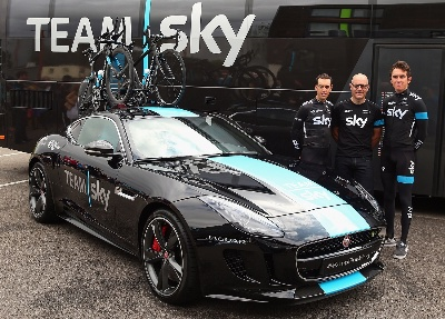 JAGUAR LAND ROVER SPECIAL VEHICLE OPERATIONS BUILDS F-TYPE CONCEPT TO SUPPORT TEAM SKY IN TOUR DE FRANCE STAGE 20