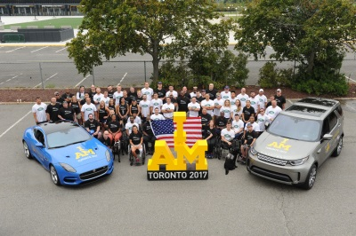 Jaguar Land Rover Celrbrates U.S. Armed Forces Team At New York Send-Off Event Ahead Of Invictus Games Toronto 2017