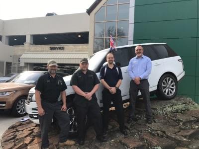 Jaguar Land Rover Places 100Th Veteran In U.S. Retail Network Employment Program