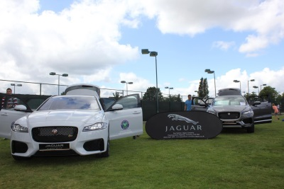 Jaguar Spread The Feeling Of Wimbledon Across The Nation With Andy Murray Trophy Tour