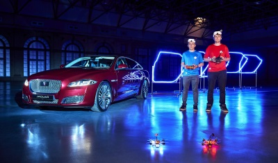 Play A Game Of Drones With The Jaguar XJ