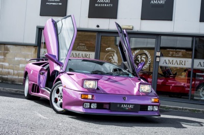 Jamiroquai's Cosmic Girl Lamborghini Goes For Sale On Auto Trader