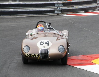 JD CLASSICS' EX-FANGIO C-TYPE TAKES THIRD CONSECUTIVE VICTORY AT MONACO HISTORIQUE