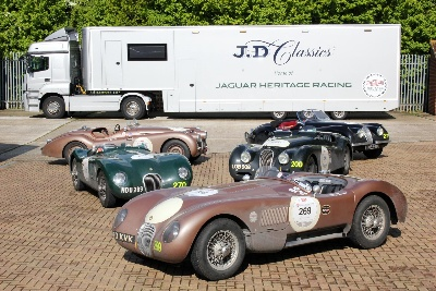 JD CLASSICS TO PROVIDE OFFICIAL 2014 MILLE MIGLIA JAGUAR TECHNICAL SUPPORT