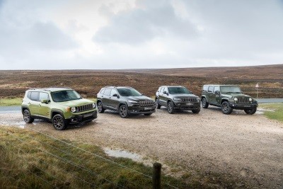 JEEP RISE CONTINUES WITH 2016 BEST YEAR EVER IN THE UK