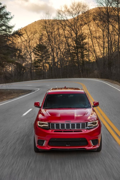Jeep® Announces Pricing For 2018 Grand Cherokee Trackhawk: Most Powerful And Quickest SUV Ever