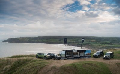 JEEP CELEBRATES 75TH ANNIVERSARY WITH WORLD'S FIRST POP-UP DEALERSHIP, ACCESSIBLE ONLY BY 4X4