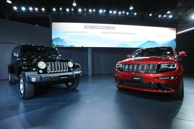 JEEP® BRAND ENTERS ONE OF THE WORLD'S LARGEST AUTOMOBILE MARKETS