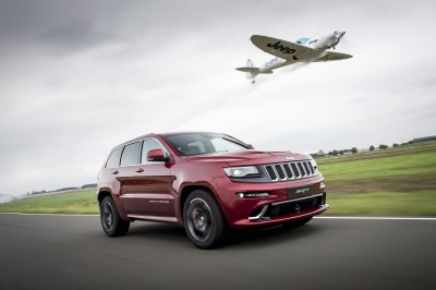 LAND VS AIR: JEEP GRAND CHEROKEE SRT DEFEATS AEROBATIC TWISTER PLANE IN 'ULTIMATE' HOT LAP