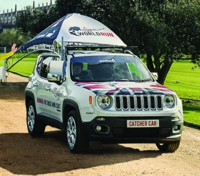 JEEP PARTNERS WITH WINGS FOR LIFE FOR WORLD RUN