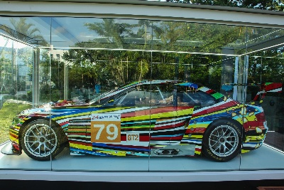JEFF KOONS PRESENTED US DEBUT OF HIS BMW ART CAR AT ART BASEL IN MIAMI BEACH