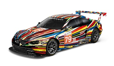 JEFF KOONS' BMW ART CAR CELEBRATES NORTH AMERICAN PREMIERE