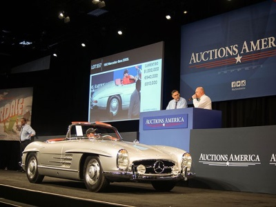 JLG Autocrib Porsche Collection and President Trump's former Ferrari steal spotlight at Auctions America's $17.3 million Fort Lauderdale sale