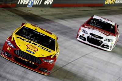 JOEY LOGANO CONTINUES HOT STREAK BY WINNING BRISTOL NIGHT RACE FOR SECOND STRAIGHT YEAR