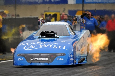 JOHNSON JR. WINS ALL-MOPAR FUNNY CAR FINAL AT DODGE NHRA NATIONALS