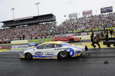 BULLSEYE: JOHNSON DRIVES MOPAR PRO STOCK DODGE DART TO HISTORIC FIRST WIN IN RACE DEBUT AT NHRA GATORNATIONALS