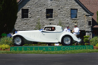1933 Delage Awarded Best Of Show At The 2017 Keeneland Concours d'Elegance