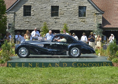 1937 Delage Takes Home Best Of Show At The 10Th Annual Keeneland Concours D'Elegance