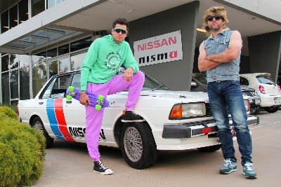 KELLY BROTHERS SET OFF ON BATHURST ROAD TRIP IN RARE NISSAN BLUEBIRD