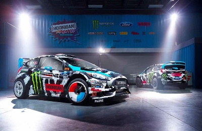 KEN BLOCK SET TO DOMINATE 2014 WITH EPIC RACE SCHEDULE AND NEW LIVERY