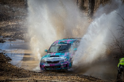 KEN BLOCK AND ALEX GELSOMINO WIN CAREER SEVENTH RALLY IN THE 100 ACRE WOOD