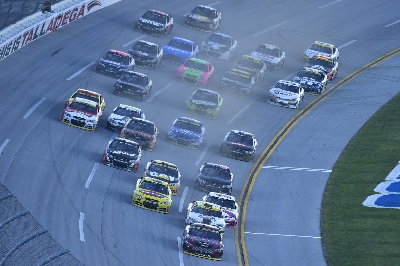 KESELOWSKI'S CLUTCH WIN PUTS THREE FUSIONS IN NASCAR FINAL EIGHT
