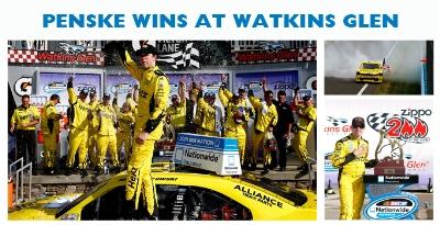 PENSKE RACING WINS EIGHTH NATIONWIDE RACE OF 2013