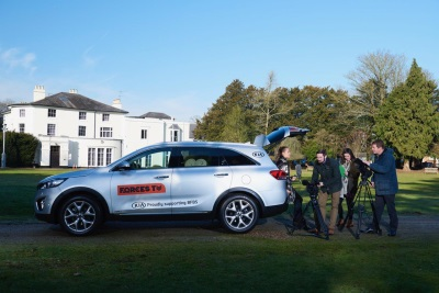 Kia Motors Supports Bfbs In The Alps For The Fifth Consecutive Year