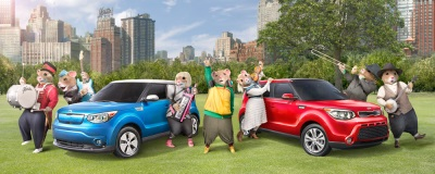 KIA MOTORS' MUSIC-LOVING HAMSTERS RETURN TO SHARE THE UNIFYING POWER OF MUSIC IN NEW AD CAMPAIGN FOR THE SOUL
