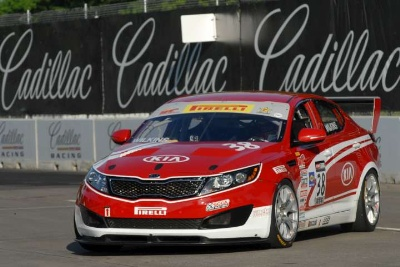 Kia Racing Scores Victory And Podium Finish In Pirelli World Challenge Doubleheader At The Detroit Belle Isle Grand Prix